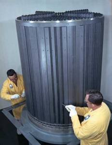 Oak Ridge Molten Salt Reactor Core