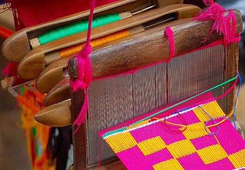 Beautiful Kente Loom